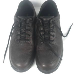 DUNHAM FITS brown waterproof leather shoe 14